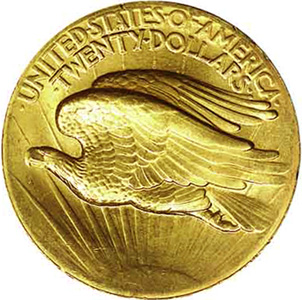 1907 saint gaudens high relief reverse